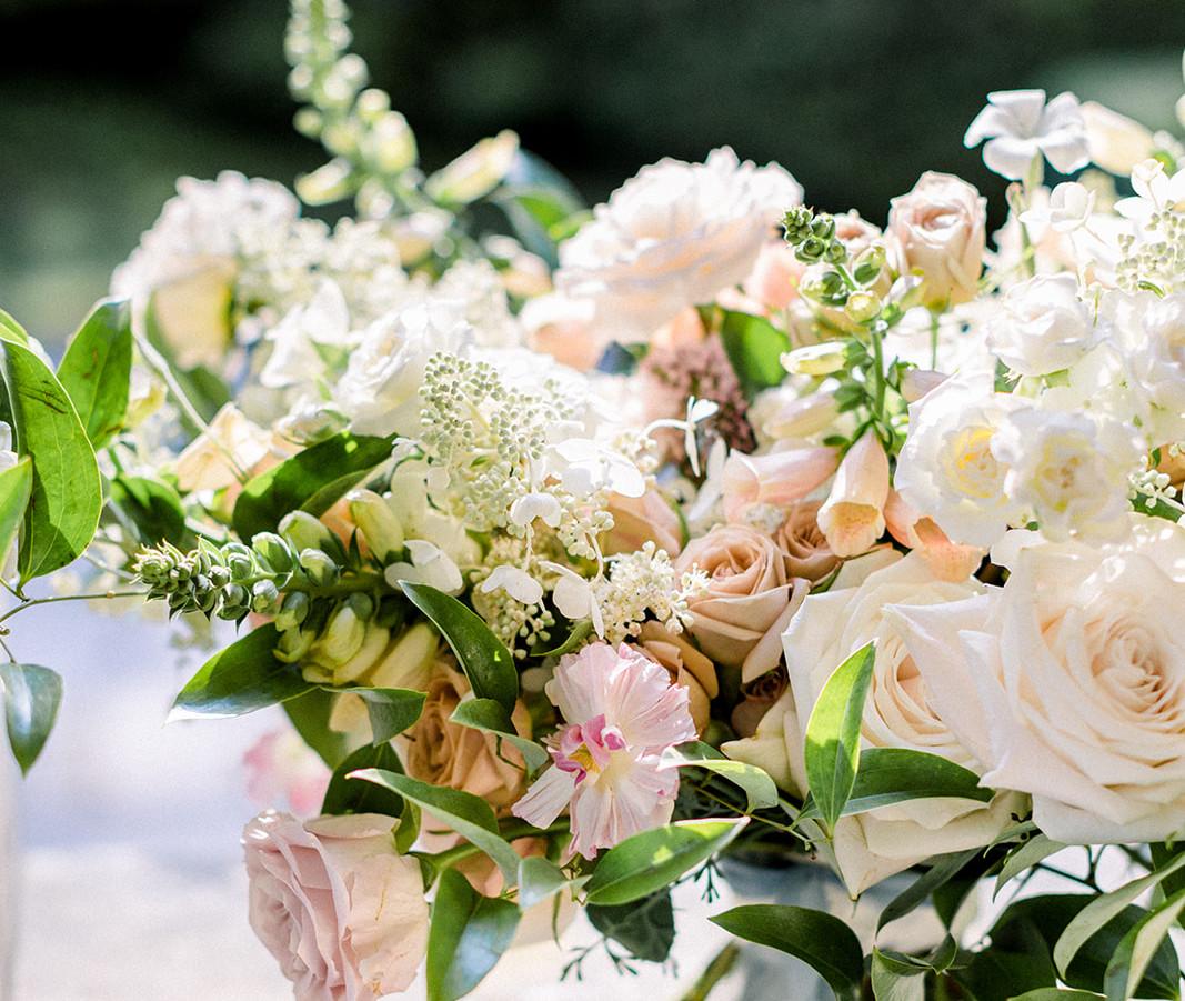 Summer Wedding Bouquet at Glen Manor House