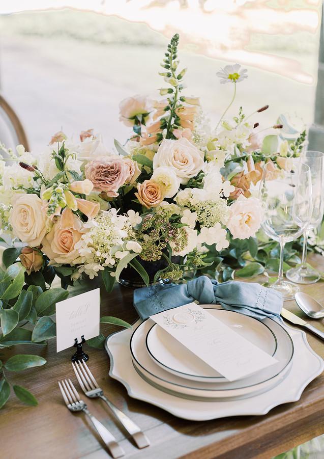 Summer Wedding Reception at Glen Manor House