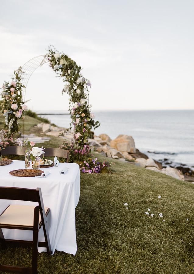 Floral Arch Backdrop