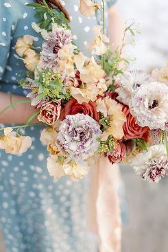 Soulflora Design testimonial photo spring fine art bouquet