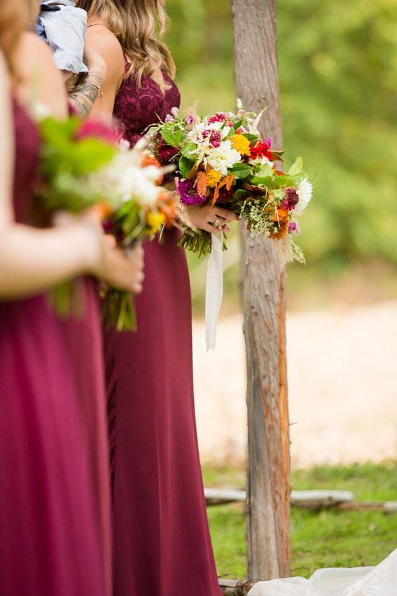 Seasonal Fall Wedding Bouquets