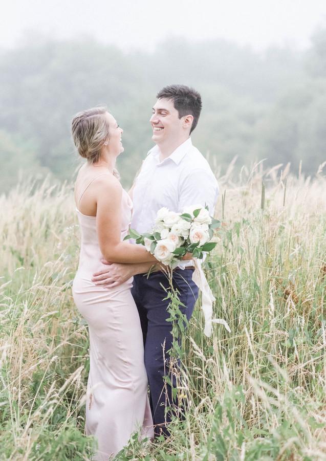 Blush Engagement Bouquet
