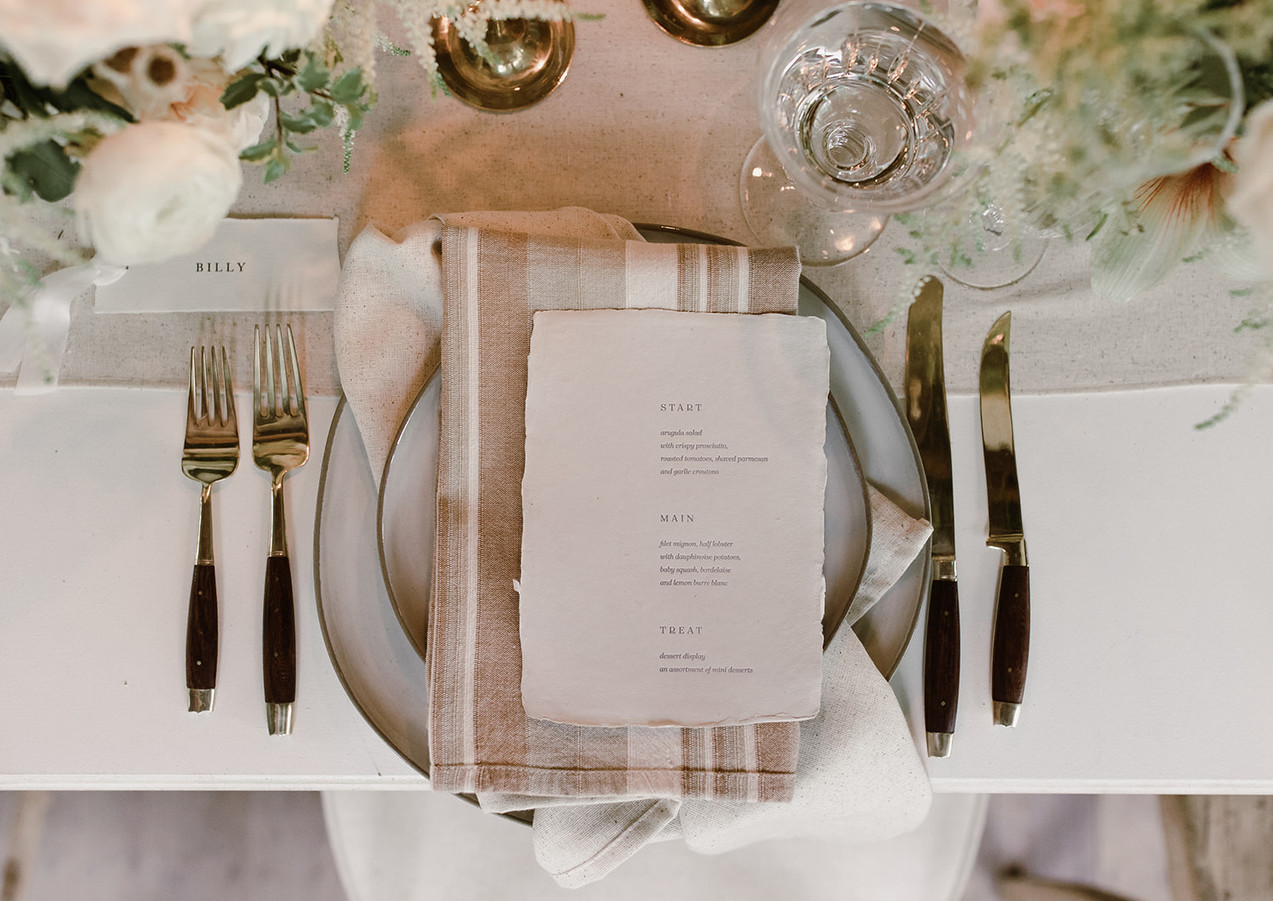 Curated Table Design