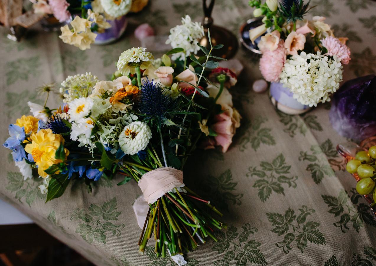 Wildflower Inspired Wedding Bouquet