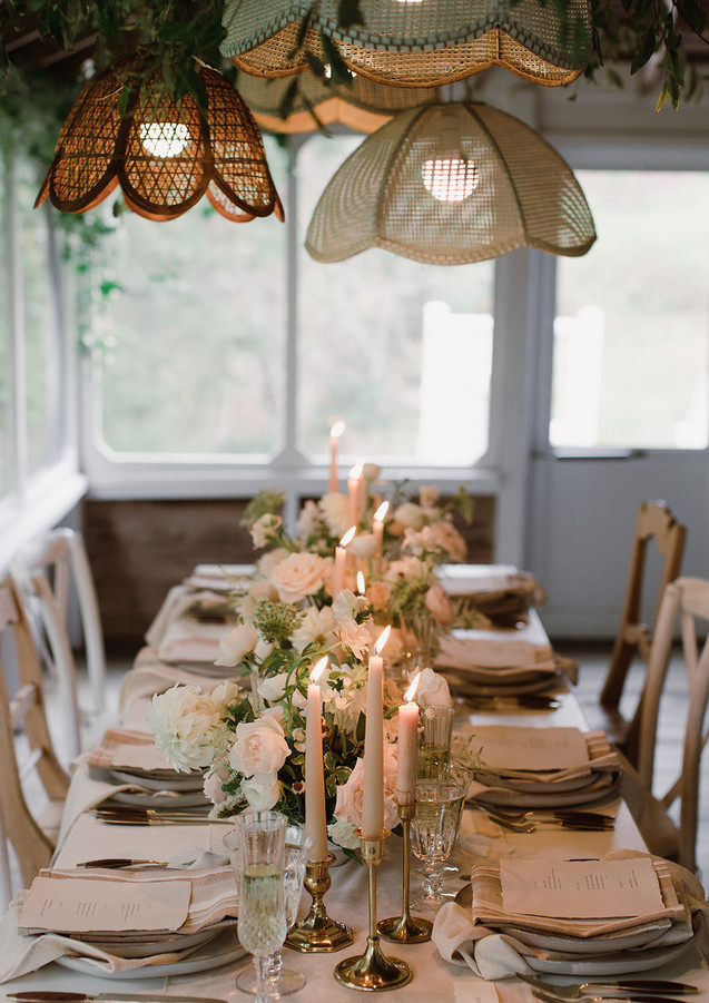Intimate Wedding Tablescape