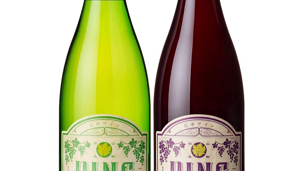 トキを旅するワイン(赤・白)2本セット
