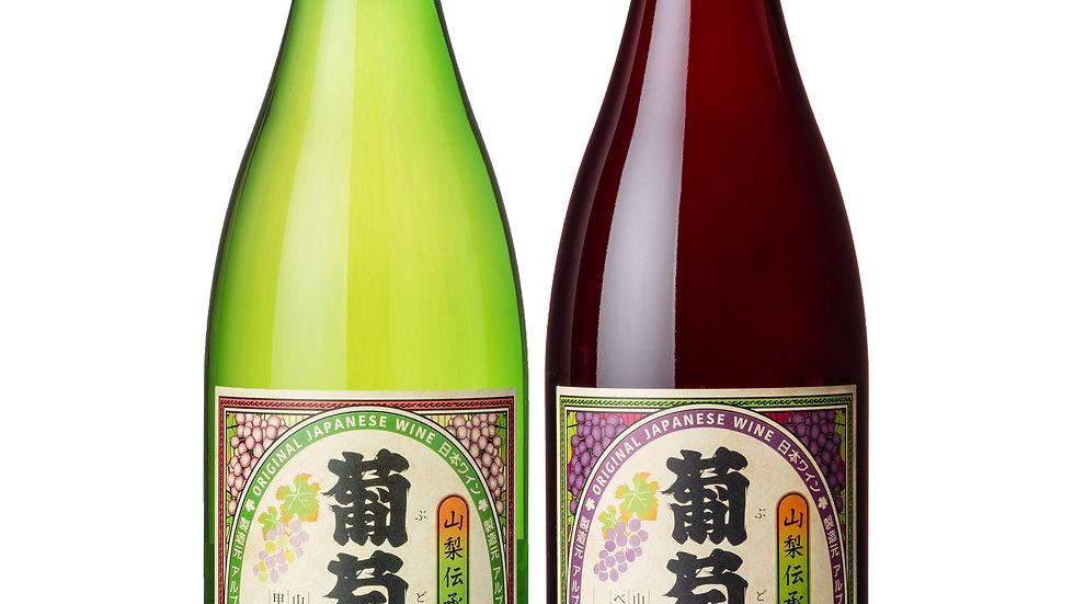 トキを旅する葡萄酒(赤・白)2本セット