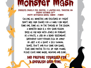Dighton PTO's first MONSTER MASH!!