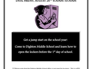 5th Grade Locker Day