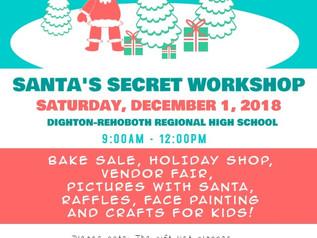SANTA'S SECRET WORKSHOP!