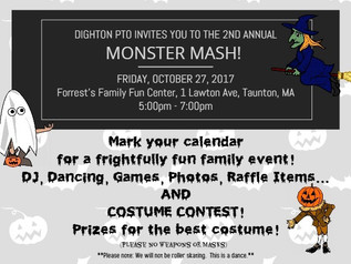 2ND ANNUAL MONSTER MASH!