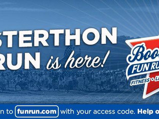 BOOSTERTHON KICK OFF TODAY -   FULL DETAILS HERE!