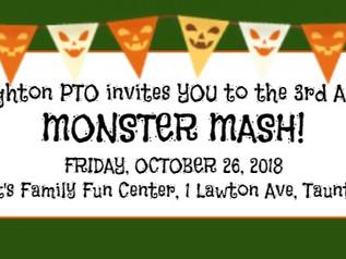 3rd Annual DES Monster Mash!