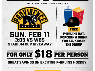 LAST CHANCE FOR BRUINS TICKETS!