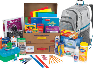 SCHOOLKIDZ TIME!  Back To School Supply Shopping Made Easy!