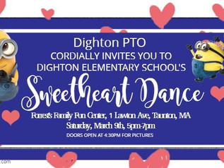DES Sweetheart Dance - March 9th