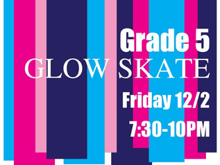 5th Grade Glow Skate
