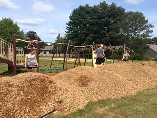 DES Playground Clean Up and Mulch