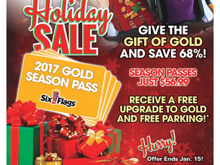 Holiday Deal from Six Flags New England