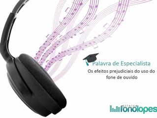 Os efeitos prejudiciais do uso do fone de ouvido