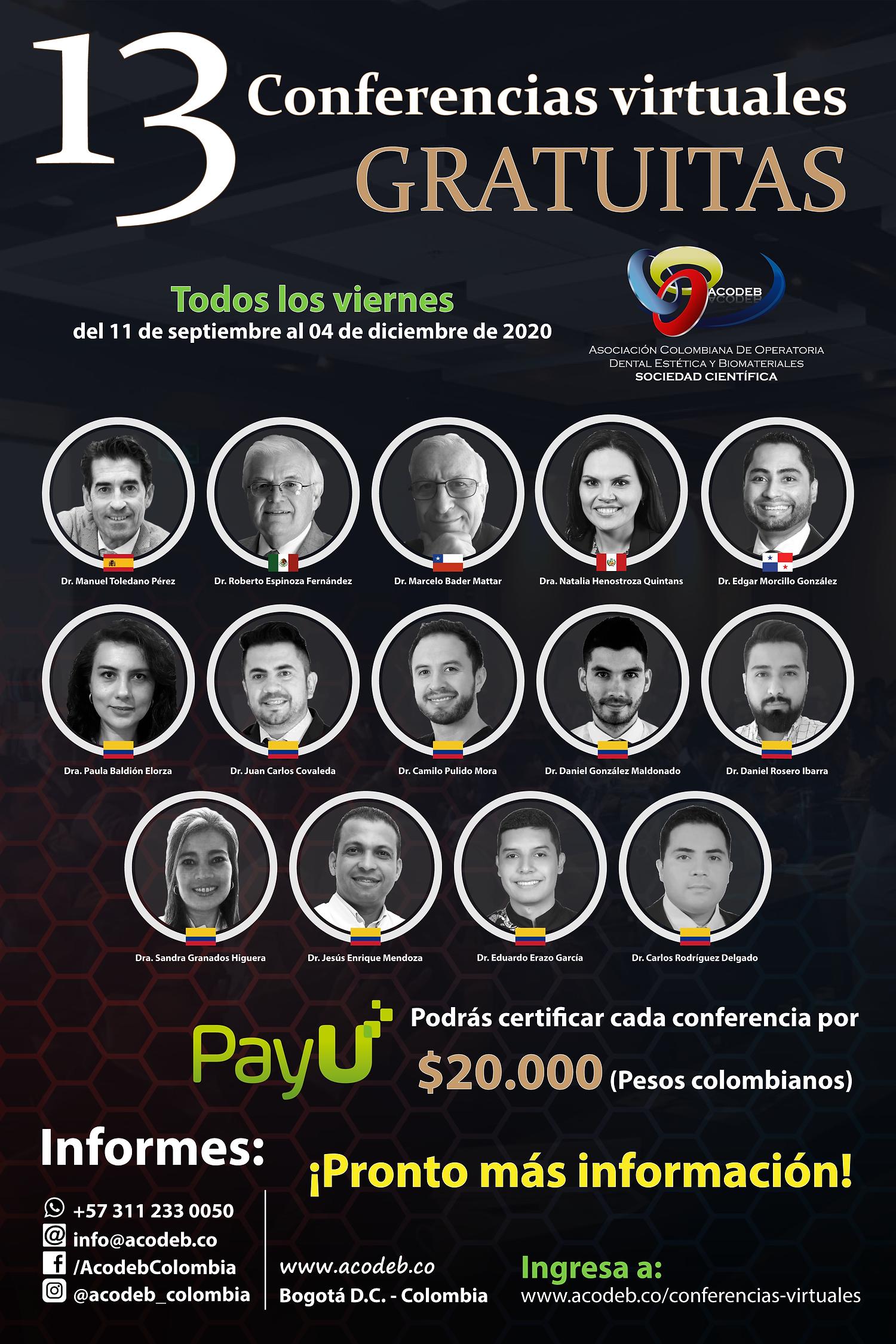 Conferencias Virtuales (Post Destacado F