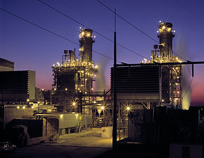 Electrical industrial power plant