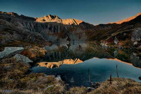 Pefekte Reflektion am Lago Superiore