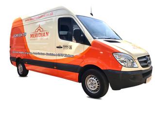 Meridian vans gets new company branding