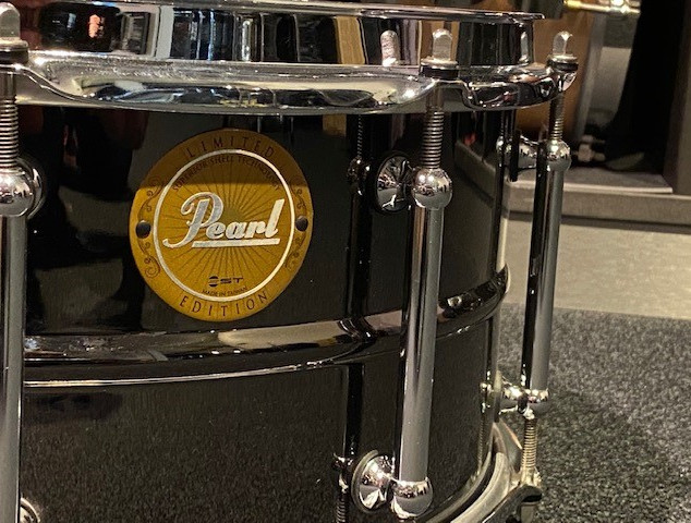 Pearl Limited Edition Brass Snare 14 x 6