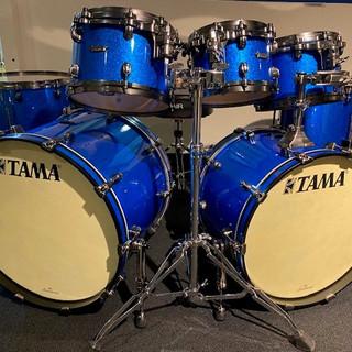 tama starclassic maple vintage blue spar