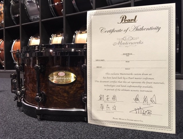 Pearl 20th Anniversary Masterworks Snare
