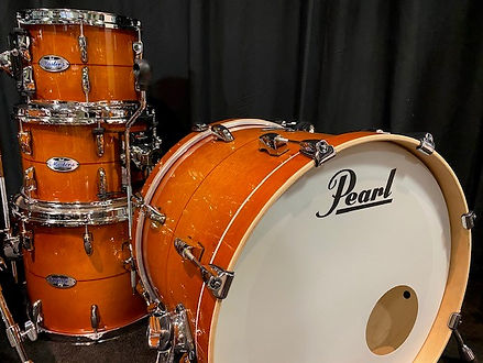 pearl master complete ALMOND RED STRIPE.