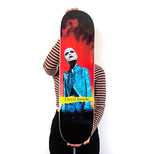 """Please Allow Me To Introduce Myself"" Signed Skateboard - Limited Edition"