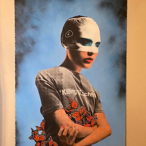 """Killing Machine"" - Sky Mist (Artist Proof)"
