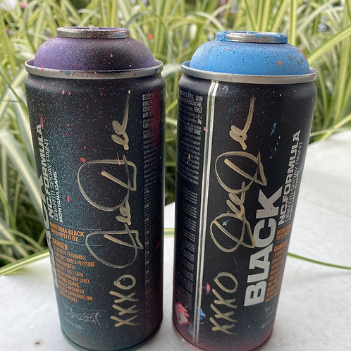 Dee Dee Used Spray Paint Can SIGNED