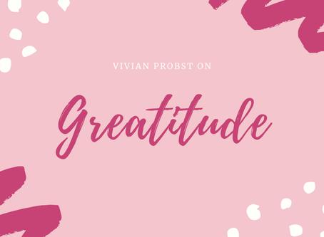 Pre-Greatitude