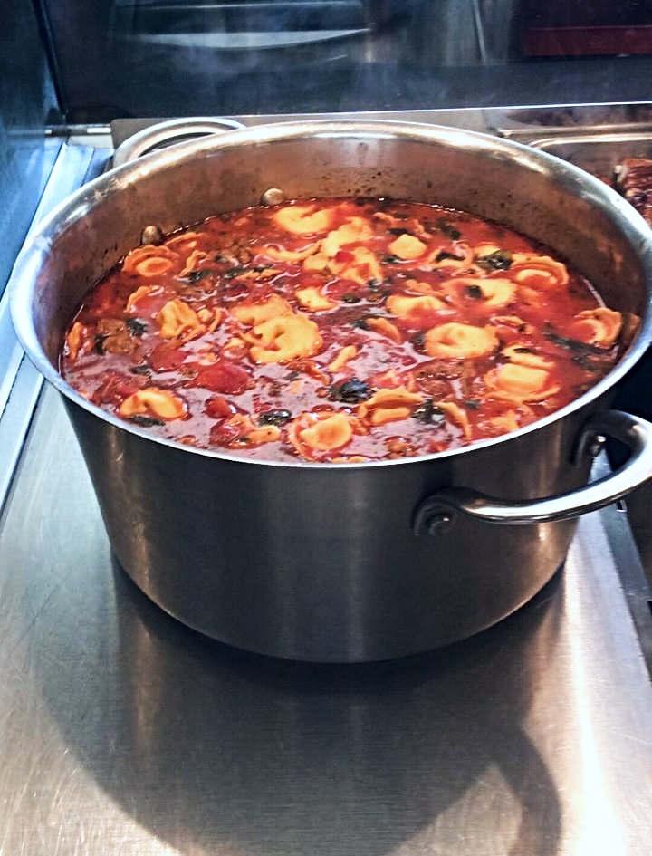 Italian Tortillini Sausage Soup