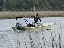 Aluminum Bay Boat