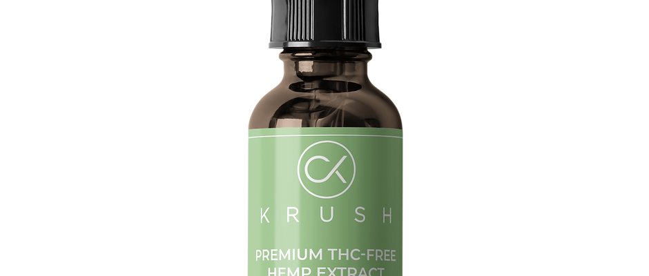 KRUSH Water Soluble 2000 mg Tincture