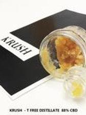 KRUSH // CBD Dab Wax ( 88.7%) CBD