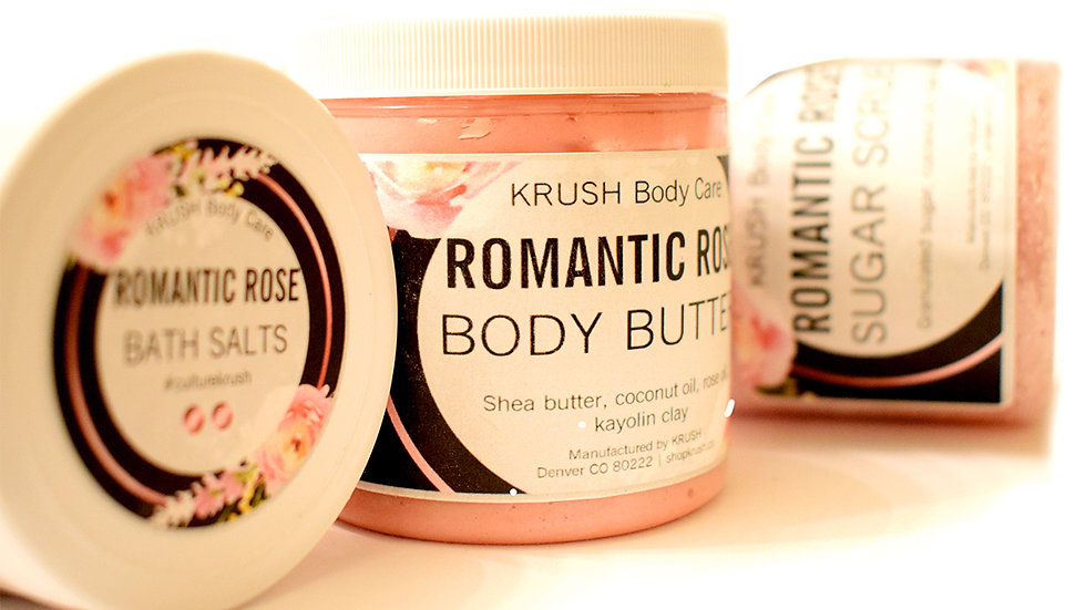 Romantic Rose Sugar Scrub