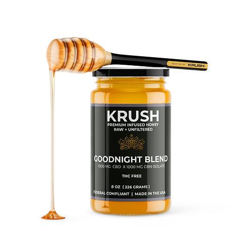 KRUSH Goodnight Infused Honey