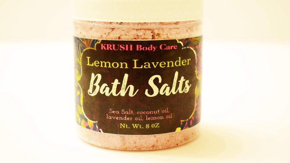 KRUSH Lemon Lavender Bath Salts