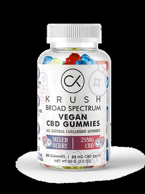 KRUSH Mixed Berry Gummies  ( 30 count )
