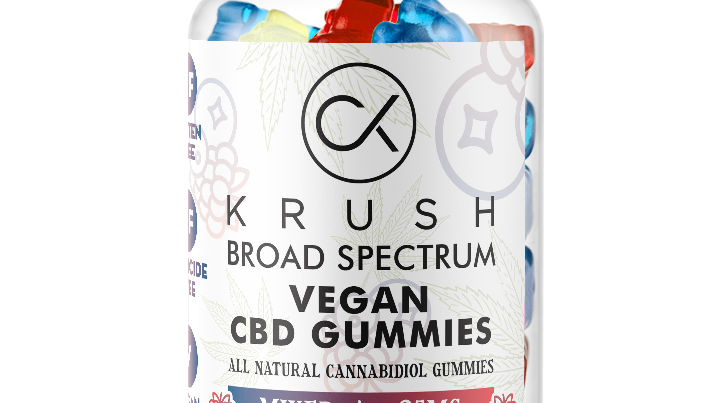 KRUSH Mixed Berry Gummies  ( 30 count )