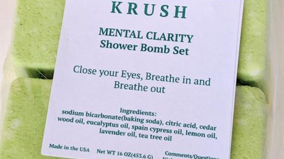 KRUSH Shower Bomb Set
