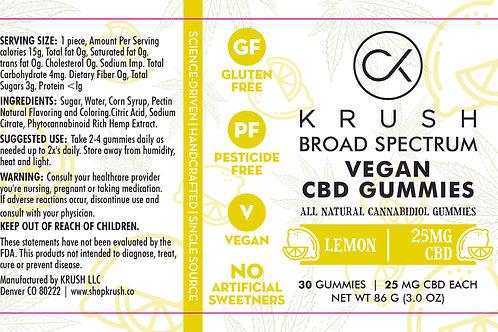 Lemon Vegan Gummies  ( 30 count )