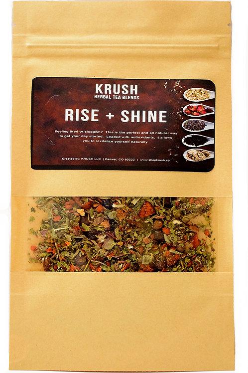 KRUSH Rise + Shine Tea Blend