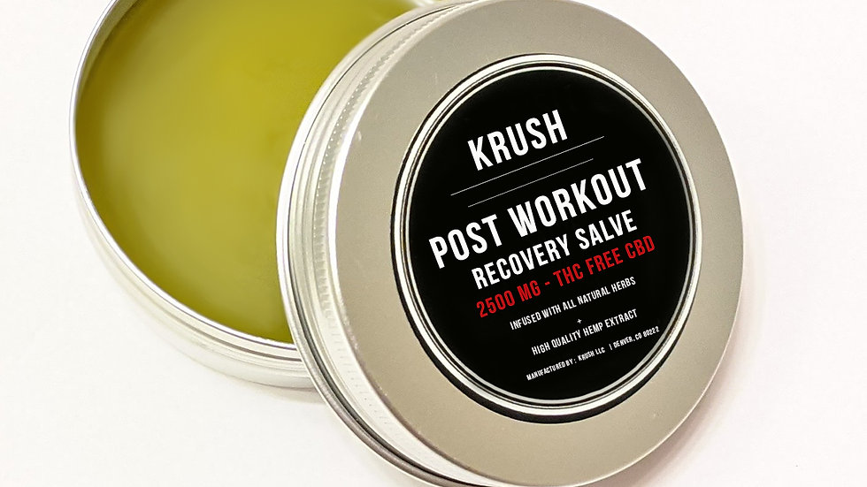 KRUSH Post Workout Salve