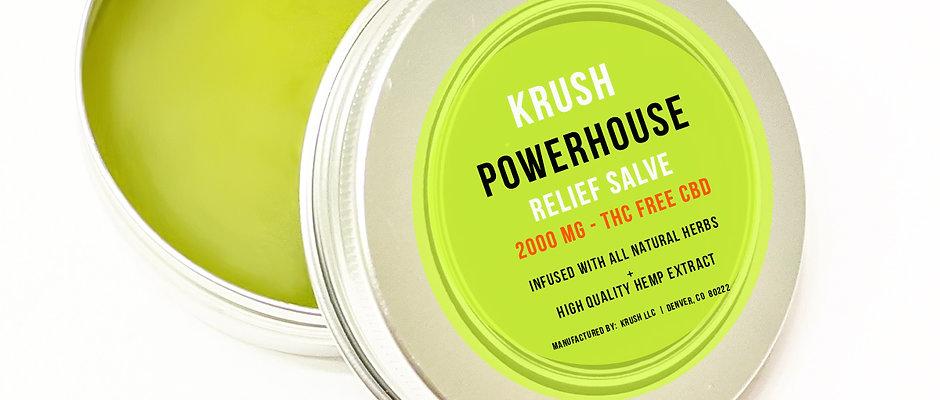 KRUSH Powerhouse Relief Salve